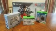 Gears 5 Xbox One X With Extra Controller Charging Stand And External Hdd All New