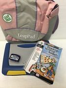 Leap Frog Leappad Plus Writing Electronic Learning System Console + Game + Case