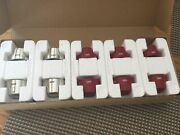 New Stainless/red Sub-zero Wolf Oven Stove Range Knob Kit Replace. Part Set/10