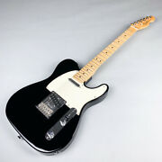 Used Fender American Standard Black Electric Guitar Free Shipping