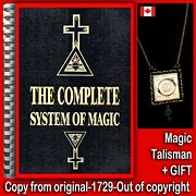 Antique Book Complete System Of Magic Witchcraft Rare Occult Grimoire Esoteric