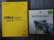 Microsoft Office For Mac Home And Student 2011 And Mac Osx Snow Leopard New