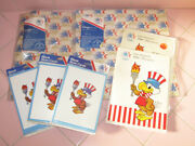 Lot 1084 Los Angeles Olympic Souvenir Paper Wrapping Note And Greeting Cards New