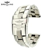 Breitling Emergency Mission Bracelet S2402 22mm-18mm End-links 830a Stainless