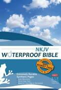 Waterproof Bible - Nkjv - Blue - Paperback By Bardin And Marsee Publishing - Good