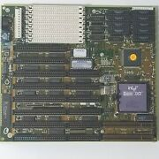 American Megatrends Amibios Motherboard 486dx Isa + Intel I486 Dx2 Cpu Combo