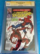 Amazing Spider-man 361 - Marvel - Cgc Ss 9.8 -sig By Bagley - Carnage -newstand