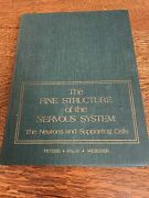 Vintage Fine Structure Nervous System Neurons Supporting Cells Peters Palay Web