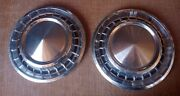 Vintage Ford Hub Caps Set Of Two 14
