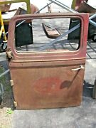 4 Vintage 1930and039s Oem Diamond T Parts-hood Drivers Door And 2 Running Boards