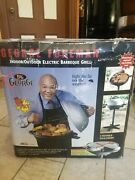 George Foreman 15-serving Indoor/outdoor Electric Grill Silver Ggr50b Original