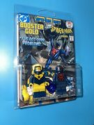 Booster Gold And Spider-man 2099 Custom Packaged Mini-figure Mashup Comic Book Dc