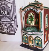 Dept 56 Grand Movie Theater Christmas In The City 58870 Retired Heritage Village