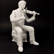 Department 56 Winter Silhouette Christmas Concerto Violinist
