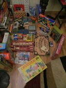 150+ Board Electronic Handheld Games - Many Vintage - 11 Are New -ages 1- 100+