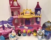 Fisher Price Little People Musical Dancing Palace Castle Lot Disney Princess