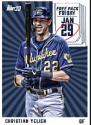 [digital Card] Topps Bunt - Christian Yelich - Free Pack Friday - Jan 29