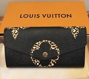 Louis Vuitton Sarah Wallet In Giant Monogram-jungle Collection Sold Out-bnib/bag