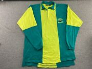 Usf Bulls Polo Shirt Rugby Style University Of South Florida Football Jersey Vtg