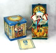 Vintage Limited Edition Collectable Jack-in-the-box Willie The Clown - Enesco
