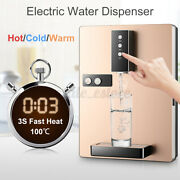 1200l Hot/cold Water Cooler Dispenser Top Loading Safety Lock Home Office 220