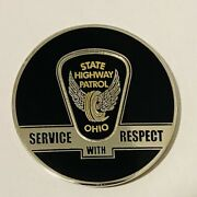 Sought After-unique-ohio State Highway Patrol -police Challenge Coin