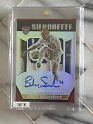 Becky Sauerbrunn Auto Relic Jersey Patch 2015 Panini Silhouette Gold Prime 16/16