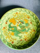 Signed Charlotte Rhead Crown Ducal And039manchuand039 Dragon Charger C.1936 Pattern 4511