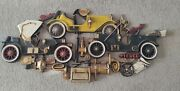 Vintage Antique Cars 1972 Burwood Products 3d Wall Hanging Stutz Buick Pierce