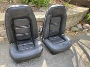Vintage Gm Bucket Seats Chevrolet Pontiac Ford Car Truck 1970s 1980s Black