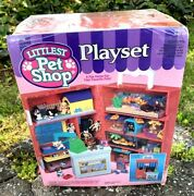 Vintage 1993 Littlest Pet Shop Playset Brand New And Factory Sealed Rare