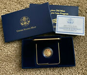 2006-s Us Gold 5 San Francisco Old Mint Commemorative Proof - Coin In Capsule