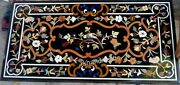24 X 48 Inches Marble Center Table Top With Heritage Art Coffee Table Home Decor