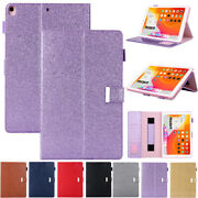 For Ipad 9.7 2018 Pro 11air 1/2 Mini5 10.2smart Case Leather Flip Wallet Cover
