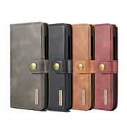 S2 Leather Wallet Flip Magnetic Back Cover Case For Samsung Galaxy Model