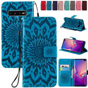 Flip Leather Magnetic Shockproof Case Cover For Galaxy S10plus S10e S8 S9+ J2 J5