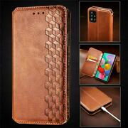Leather Magnetic Flip Case Cover Oppo A92 72 A52 Find X2 Realme 6 Pro C3 C11 C12