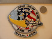 Original Sts-51l White Tab - Hybrid Patch Nasa Space Shuttle Challenger 4