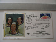 Astronauts Ron Mcnair, Fred Gregory, Guion Bluford Signed Fdc Cover Nasa Sts-51l