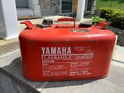 6.3 Gallon Yamaha Vintage Metal Outboard Boat Gas Fuel Tank Can
