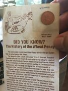 1957 Lincoln Wheat Cent P - Bu - Uncirculated With History Of Wheat Penny