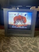 Toshiba Mw20fp1 20 Crt Tv Vcr Dvd Combo All In One Retro Gaming Works Great See