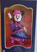 2020 Jakks Pacific Disney Minnie Mouse Catrina Doll Day Of The Dead Collectors