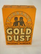 Early 20th Century Vintage Gold Dust Unopened Box - Washing Powder 10 Ounces