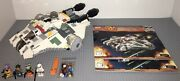 Lego 75053 Star Wars The Ghost Complete Set Manuals Minifigures