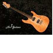 Tand039s Guitars Dst-24 Two-tone Quilt / 2016 Electric Guitar