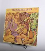 Vintage The Wizard Of Oz Tale Spinners For Children Original Vinyl Lp Record