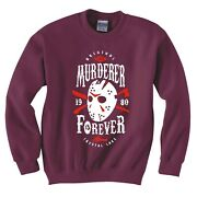 Inspired By Friday The 13th Murderer Forever Sweatshirt