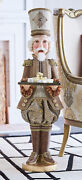 Katherineand039s Collection Gilded Seasons Nutcracker Butler Rare Retired New