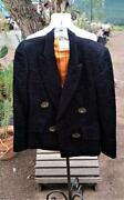 Vintage Moschino Couture Couture Dinner Jacket Blazer Sun Buttons Quilted Look